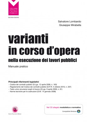 Varianti in Corso d'Opera Lavori Pubblici