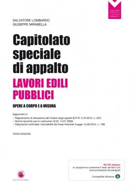 Capitolato Speciale di Appalto Lavori Pubblici