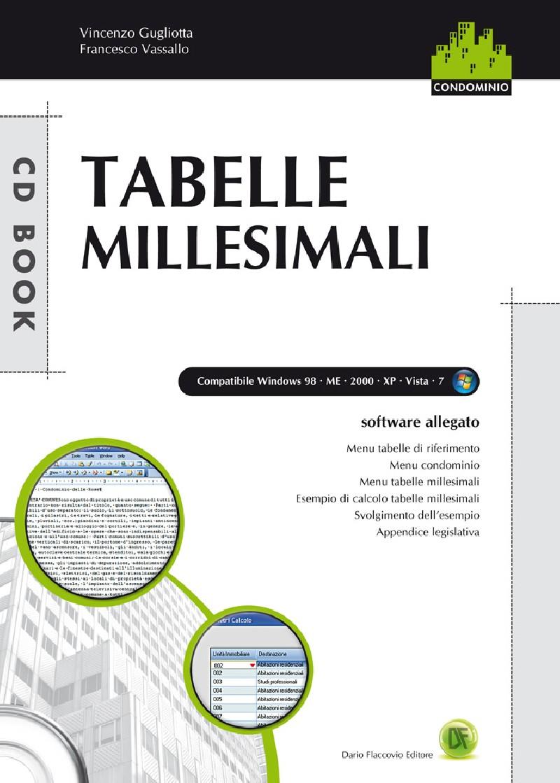 Tabelle Millesimali : Le tabelle millesimali libro